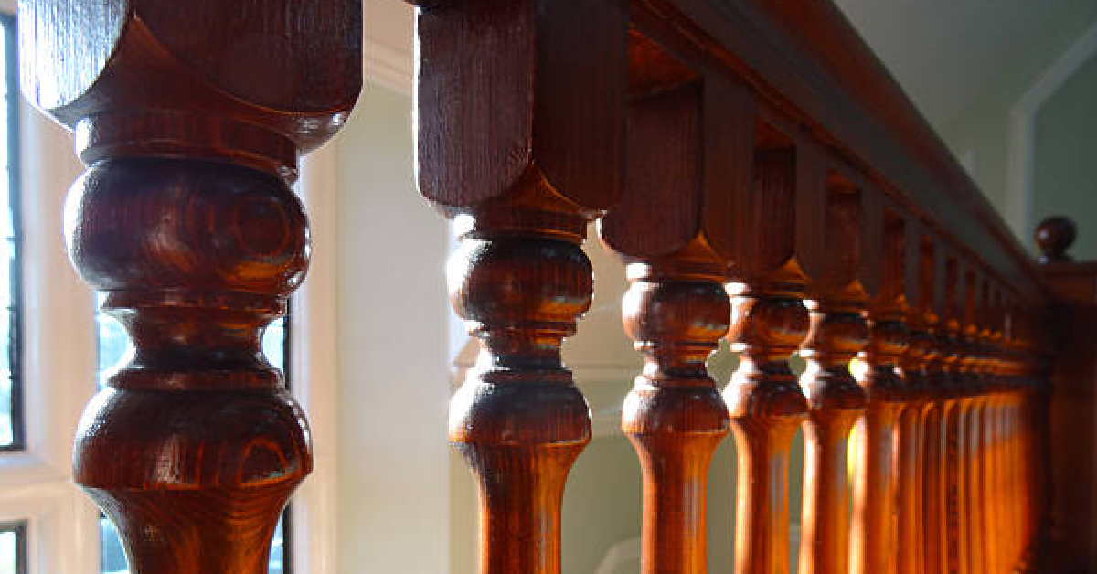 A Common Problem With Stair Railing Parts, Like Wooden And Wrought Iron  Balusters, Is An Irritating Rattle Every Time Someone Walks Up Or Down The  Stairs.