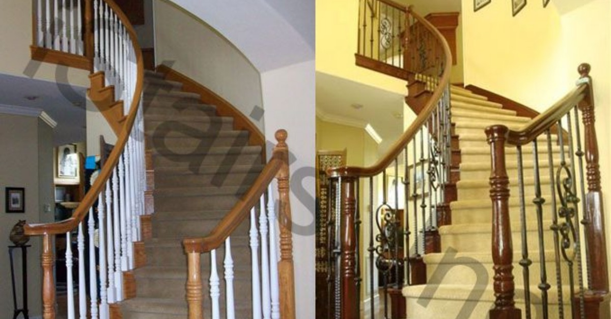 After A While Your Hardwood Treads For Your Sacramento Stairs Could  Potentially Experience Some Wear And Tear. Especially The High Traffic  Staircases In ...