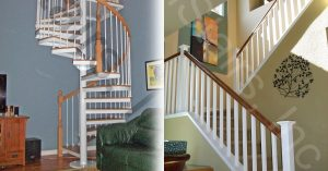 Choosing Between Spiral and Straight Staircases