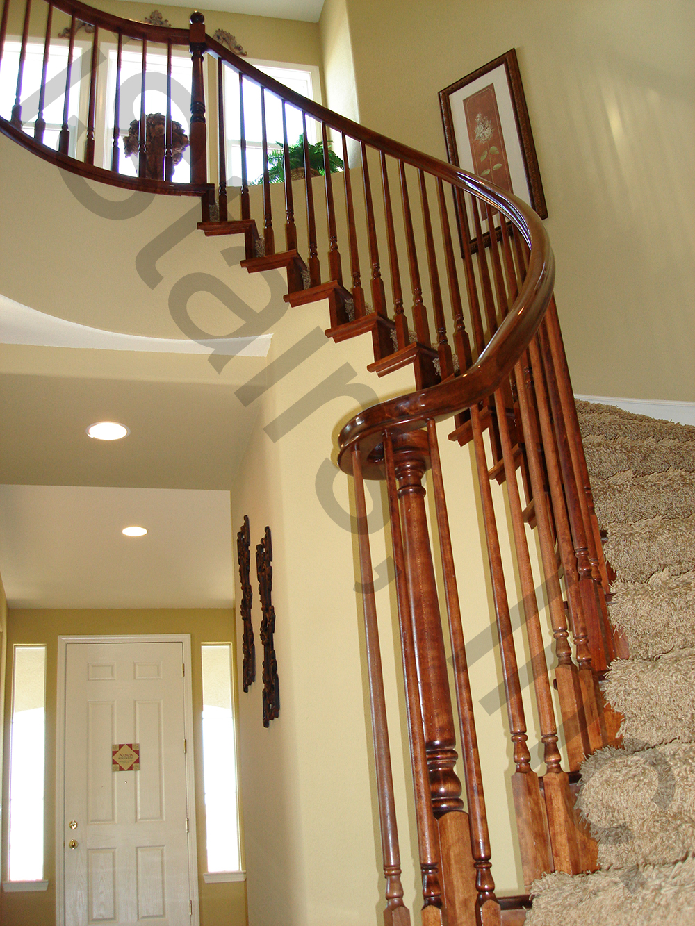 Cherry Wood Staircases | IStairs, Inc.
