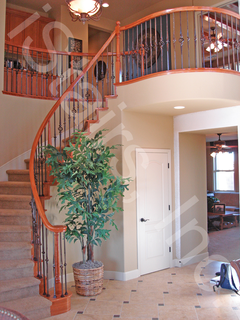 Cherry Wood Staircases Istairs Inc