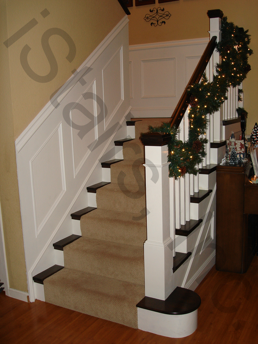 Paint Grade Staircases Gallery Istaircases Net
